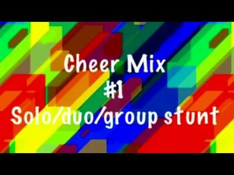 Cheer Mix #1 | 1.15 min - solo/duo/group stunt