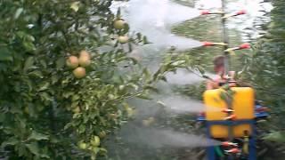 видео опрыскиватели садовые прицепные