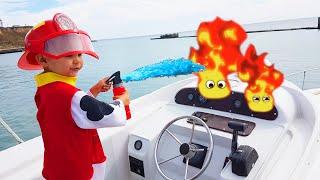 O grande barco quebrou - Dima corre para o resgate