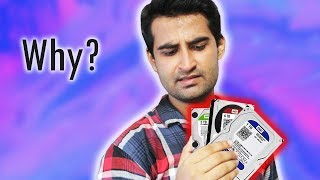 [HINDI] WD Drives Explained - Difference Between WD Red, Green, Black, Purple and Blue!