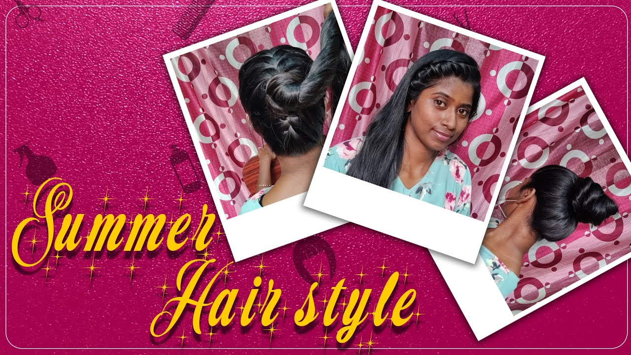 Summer Hairstyles | Long Hair Princess | Tamil