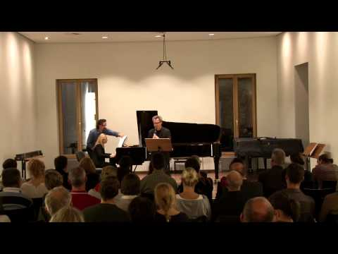 Nachtkonzert - After You, Mr. Gershwin!        Heiner Schindler, Klarinette Olha Chipak, Klavier