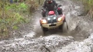 ATV Racing in Mud 2016 Off road Compilation