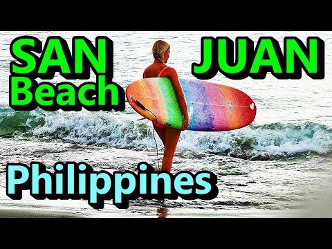 Surfing San Juan Beach Philippines (Luzon RoadTrip)