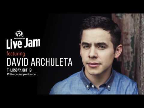 Rappler Live Jam: David Archuleta