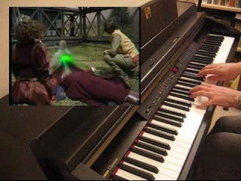 Doctor Who: Piano Tom Baker regeneration
