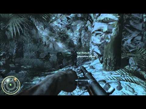 "Call of Duty: World at War- Mission 1: Intro/Semper Fi ""Veteran Mode"""