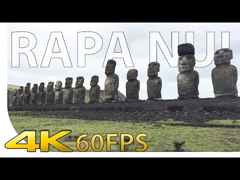 [4K] Rapa Nui - Easter Island / Moai / Moais - Chile - Cinematic | [UHD] [Ultra HD] [2160p]