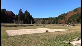 北広島町の吉川元春館跡と墓所 (広島県 2019.11.23)