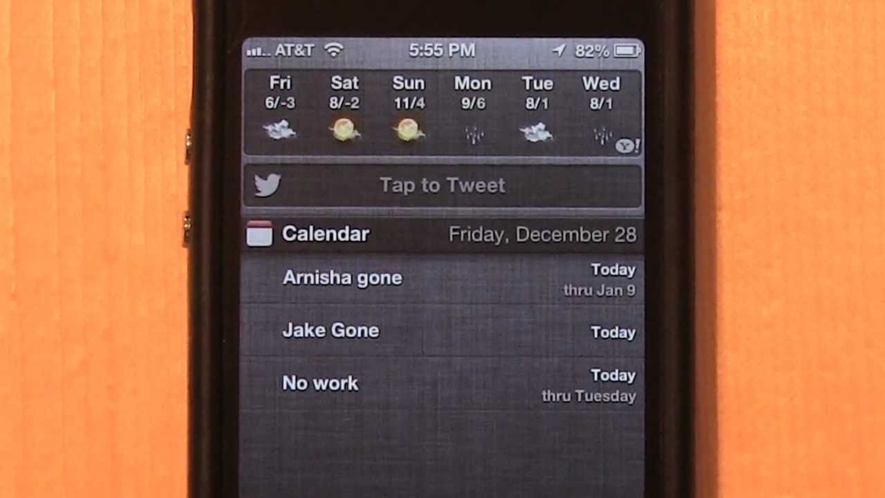 iphone notification center not working a how to remove tap to tweet integration button 17682