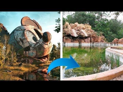 Disney hat einen verlassenen Park und will nicht, dass du ihn siehst!