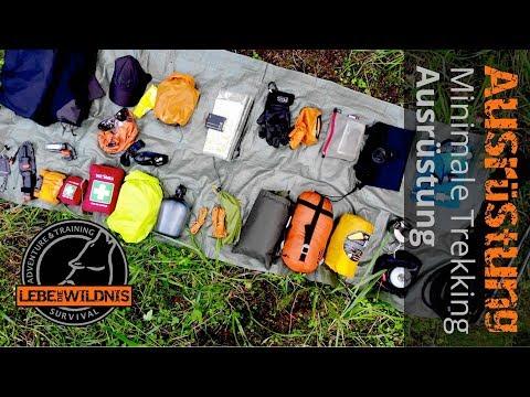 Trekking Ausrüstung - Basic Gear, Rucksack packen, Outdoorgear, Equipmentcheck, Ultra Light Trekking