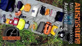 Minimale Trekking Ausrüstung - Survival Adventure & Training