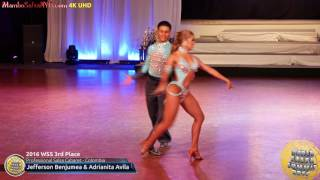 WSS16 Professional Salsa Cabaret 3rd Place Jefferson Benjumea & Adrianita Avila