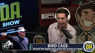 The Eagles eliminating free practices for fans is disgraceful I D.A. on CBS thumbnail