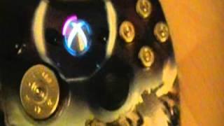 RUTH'S RARE HALO SPARTAN MODDED XBOX 360 CONTROLLER