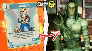 Fallout 76 | What Happens if You Talk to the Cannibals With the Cannibal Perk? (Fallout 76 Secret)