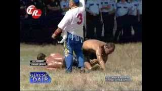 Ali GÜRBÜZ - Orhan OKULU Yarı final mücadelesi - Oil Wrestling
