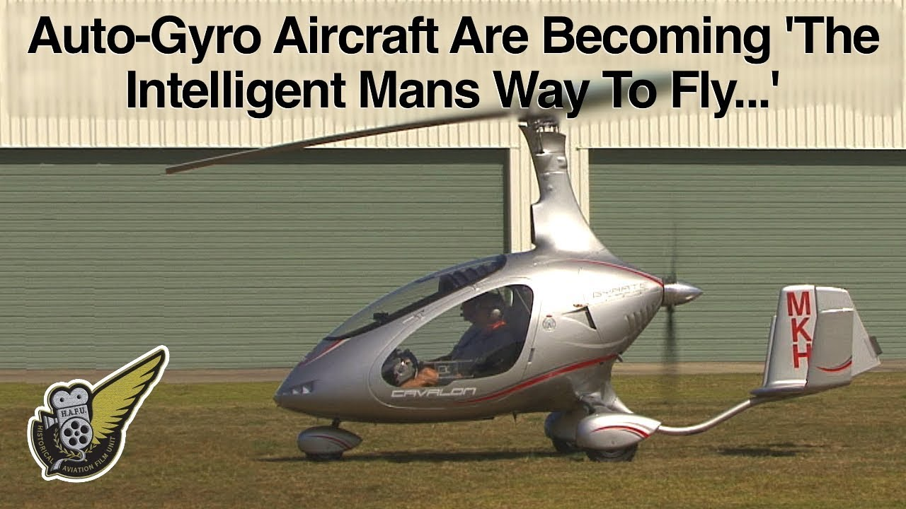 See what the new Cavalon Gyroplane is like to fly - YouTube