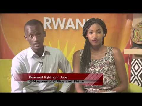 RSR;African union 27th summit,MUCYO Apollo young entrepreneur and Full body massage