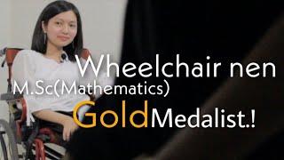 MSc. Gold Medalist Joan Laldinpuii Interview | A chanchin ropui leh ngaihnawm tak mai..