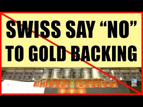 Swiss Vote NO to GOLD! Will Precious Metals Prices CRASH?