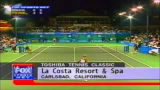 Martina Hingis vs Mary Pierce 1998 Toshiba semifinal
