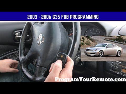 2005 Infiniti G35 Keyless Entry Remote Fob Smart Key
