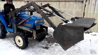 Самодельный ковш для мини трактора на гидравлике..
