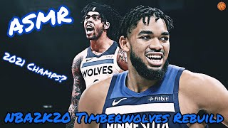 ASMR   D'Angelo Russell On The Timberwolves! 🏀 (NBA2K20 Rebuild)
