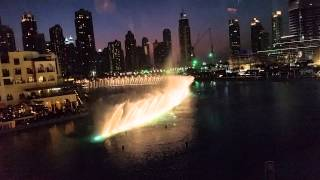 Downtown Dubai Fountain Show