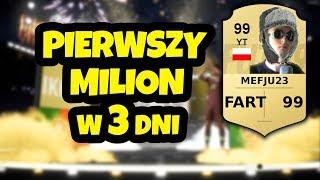 Jak zarobiłem 1.000.000 w PIERWSZE 3 DNI gry w FIFA 19!