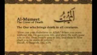 Names of Allah - Al Mumeet