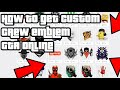Gambar cover How to Get Custom Crew Emblems in GTA Online