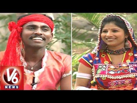 Janapadam With Nizamabad Folk Singer Naveen (04-01-2015) || V6 News