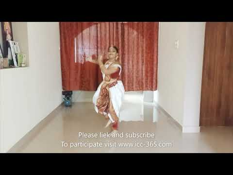 Indian traditional dance by beautiful girl