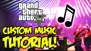 GTA 5 PC - How To Use Your Own Music On Radio Stations! (GTA V PC Gameplay)