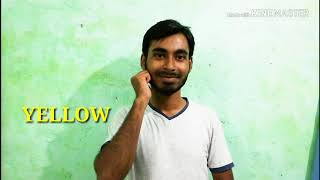 How to Learn Indian Sign Language (COLOURS)WITH KAMRUL PART 11.BY SOIF ALI