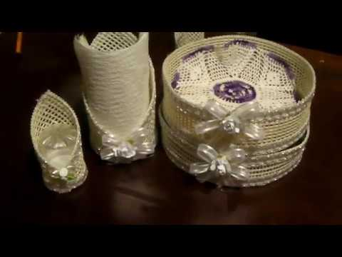 Como hacer un tortillero con maya youtube - Cosas para preparar una boda ...