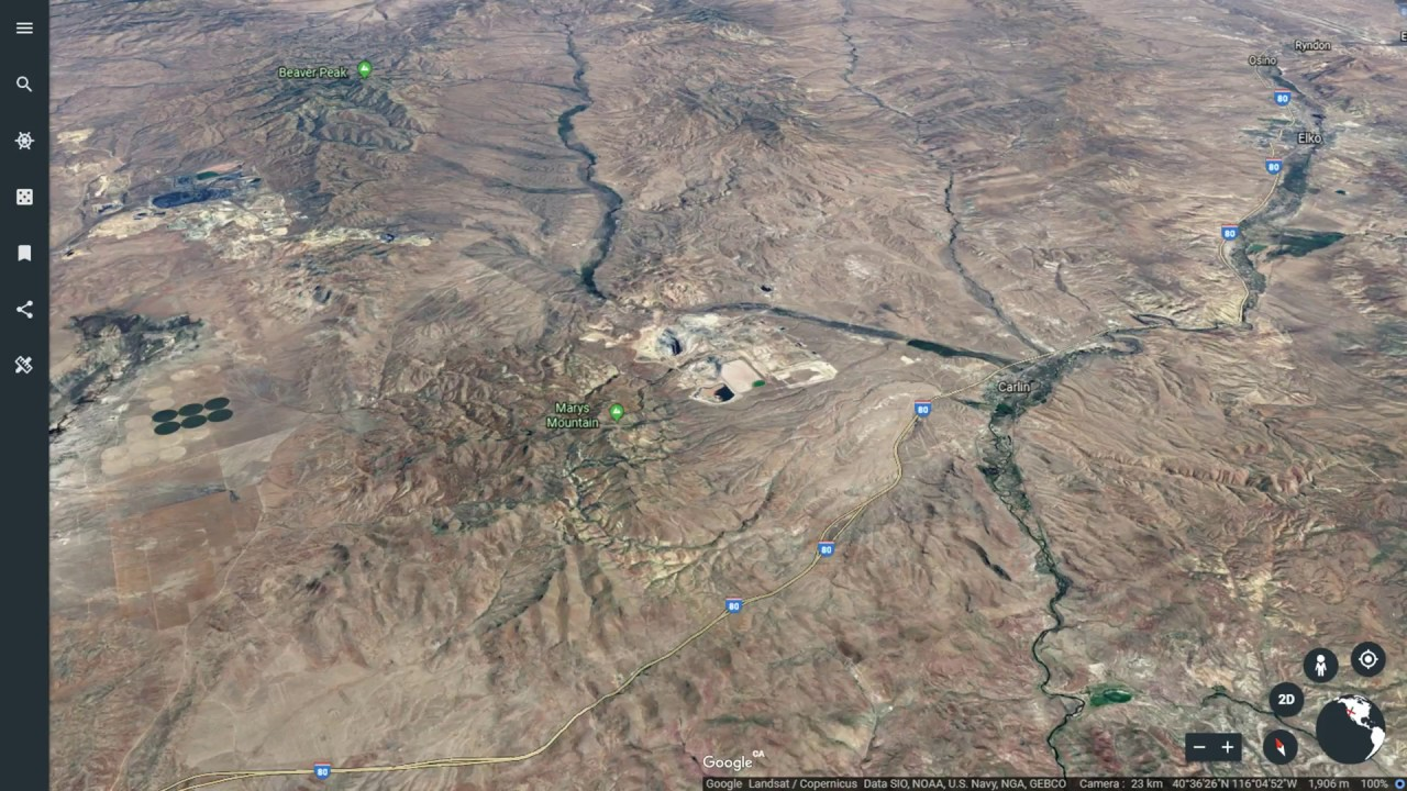 Peter Bell and Mickey Fulp: Gold Mining in Nevada