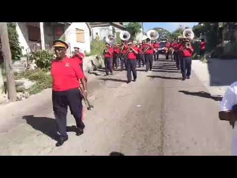 The world famous Bahama brass band