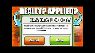 How to kick out clan leader from clan in clash of clan