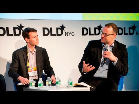 Mass Migration and Tech: Solutions for a Global Issue (Holl,Spahn,McAllister,Hieronimus) | DLDnyc 16