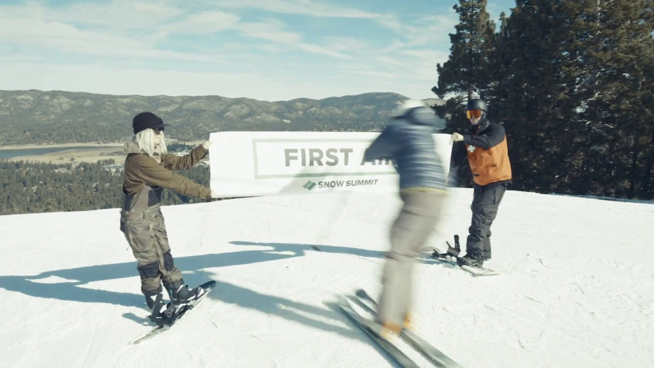 Snow Summit Opening Day 2018