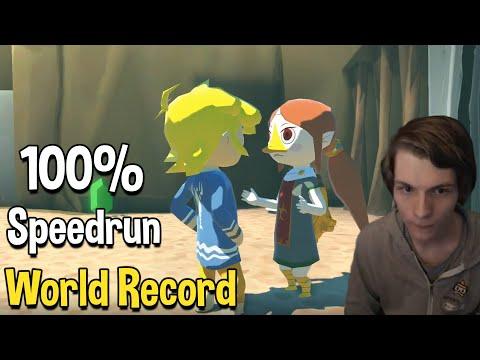 Zelda: The Wind Waker HD 100% Speedrun World Record in 5:42:39