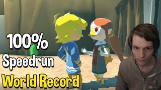 Zelda: The Wind Waker HD 100% Speedrun World Record in 5:42:39