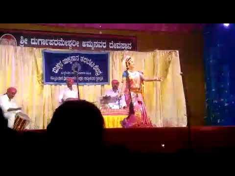 Yakahagana performance by Anvitha