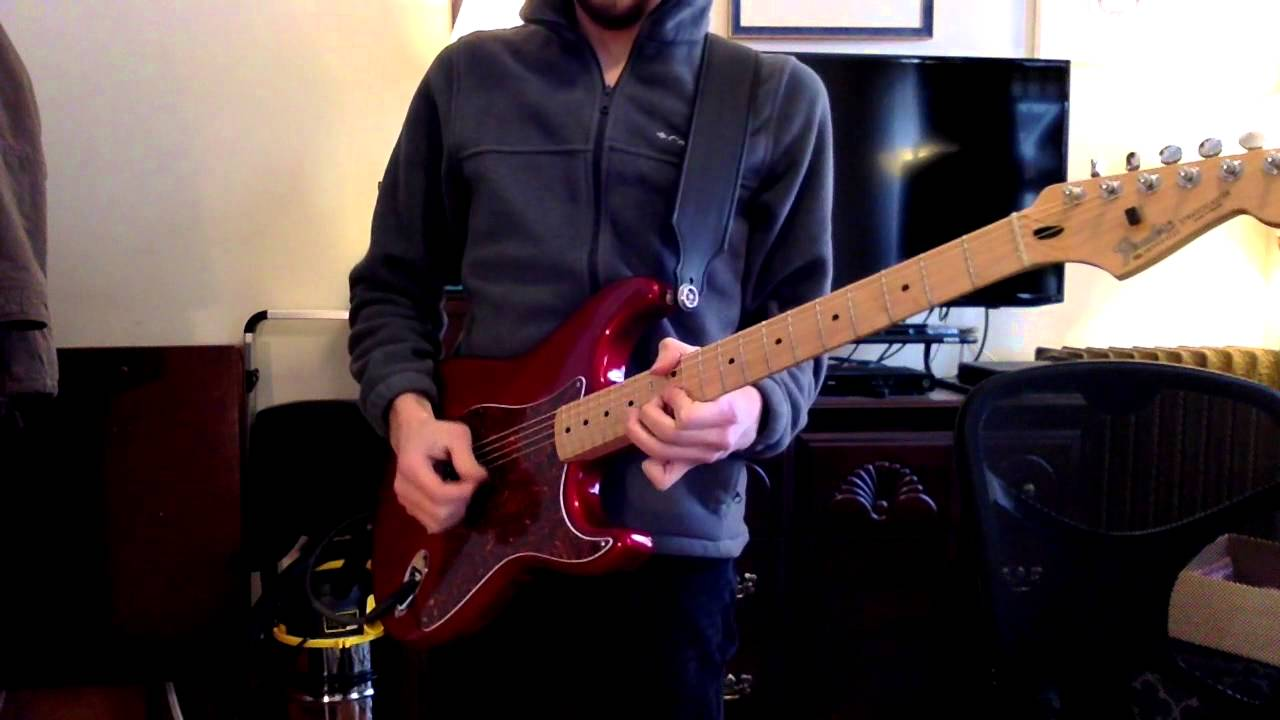Strat w/ passive Graphtech Ghost undersaddle pickups demo - YouTube