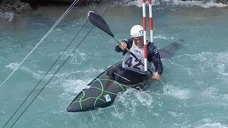 Finale K1 Kayak men international - ICF World Ranking Slalom Ivrea 2014