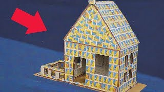 GIANT MATCHBOX HOUSE - DIY